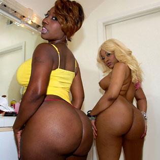 Huge black asses